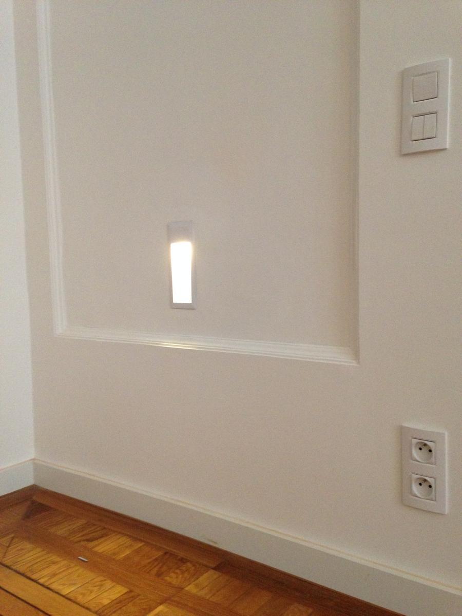 LED osvětlení chodby