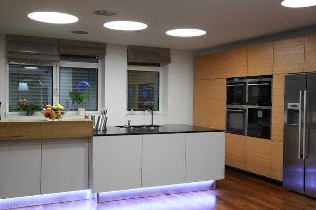 LED osvětlení kuchyně - skříně