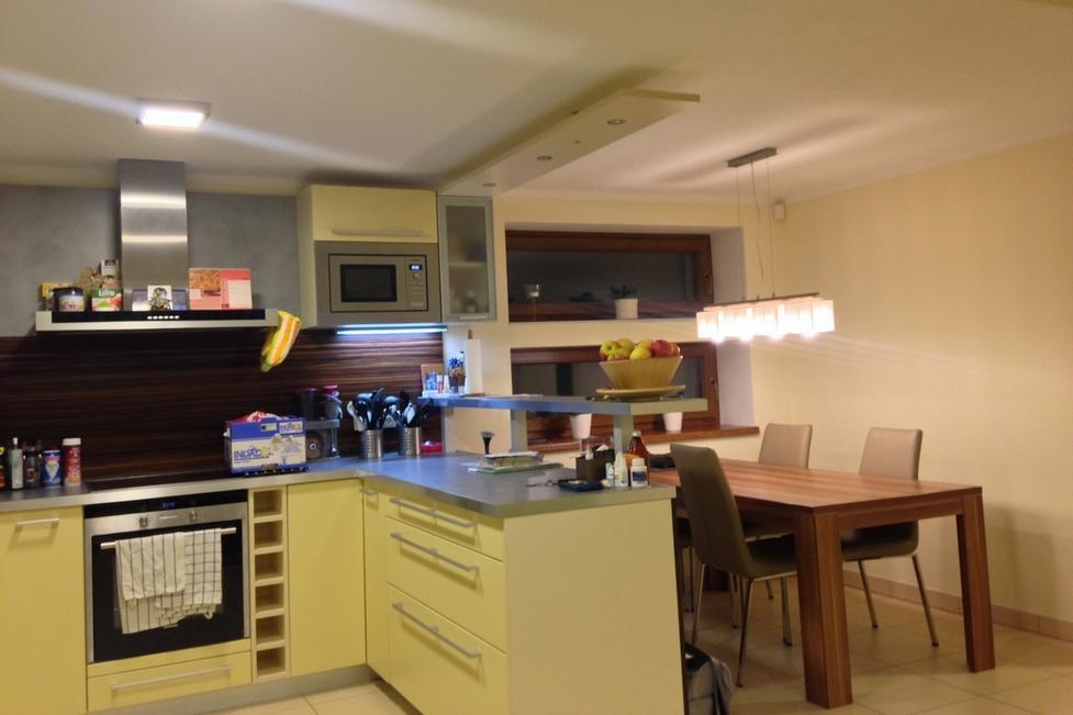 LED osvětlení kuchyňské linky